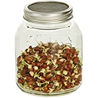 Germinador de vidrio 1000 ml. Para hacer brotes, para una alimentación sana!