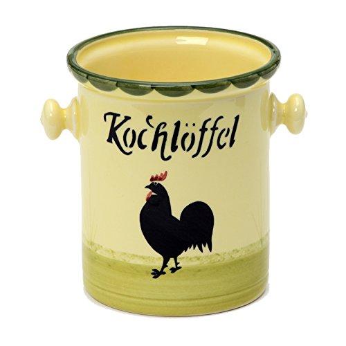 zeller-in-ceramica-a-forma-di-gallina-e-gallo-cucchiaio-in-legno-kochloffel