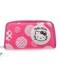 Hello Kitty tamaño grande tipo cartera bolsa de embrague pequeña