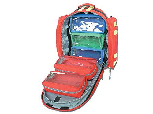 GiMa logic-1Rucksack, 40cm l x 20cm W x 47cm H, rot, Notfall, Trauma, Rescue, medical, Erste Hilfe, Krankenschwester, Paramedic Multi Pocket Tasche -