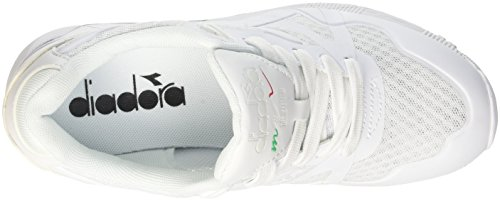 Diadora N9000 Mm Ii, Pompes à plateforme plate homme Blanc
