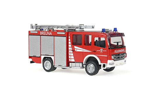 Reitze Rietze–173.283,9cm Schlingmann Mercedes Benz Atego 20/25STLF Feuerwehr Breuna Fire
