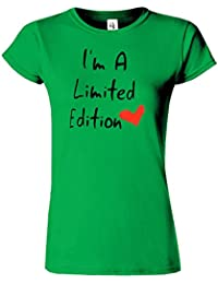 Im Limited Edition Womens T-Shirt imprime Heart Top Birthday