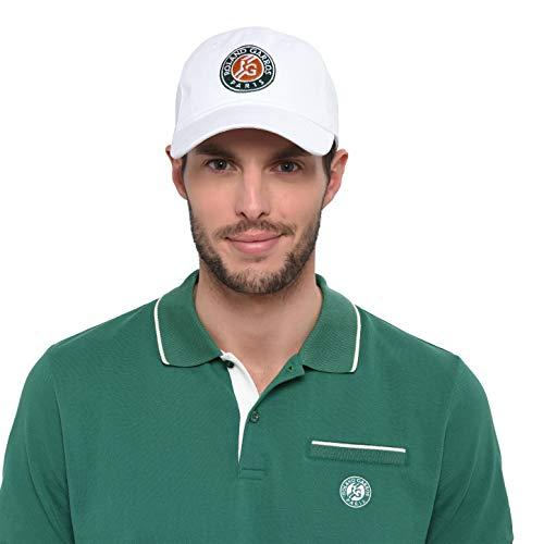 Bestickte Roland-Garros Logo-Kappe - Weiß