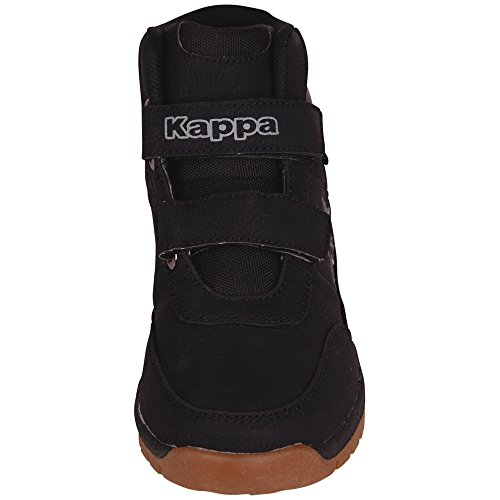 Kappa BRIGHT MID K, Bottes Classiques mixte enfant Noir (1111 Black)