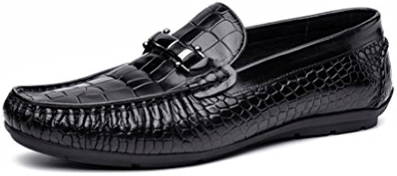 ZPEDY Männer Jugend Lässig Britische Faule Schuhe Komfortable Atmungsaktive Sport Frühjahr und Sommer