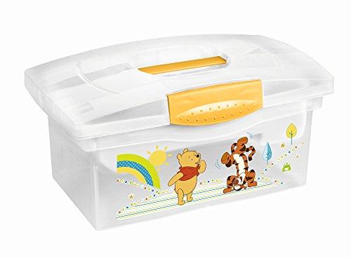 Disney Wickelbox für Kinderzimmer und Badezimmer, Motiv: Winnie Pooh