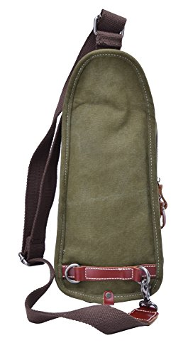 Gootium 40678 AMG Tela in Vera Pelle Croce corpo petto pack Army Green