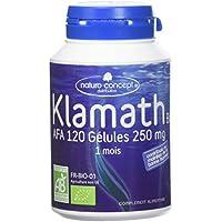 Gélules de Klamath Afa certifié OTCO, boite de 120 gélules