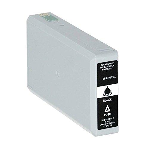 T7901-XL Cartuccia compatibile Nero Per Epson WorkForce WF-4630 4640 5110 5190 5620 5690 79XL