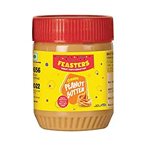 Feasters Peanut Butter Creamy Bottle, 227g