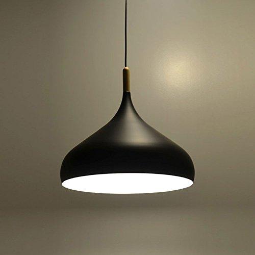 E27 Métal Vintage Suspensions Luminaire Lampes Luminaire Aluminium éclairage de Plafond E27 Lampe LED Oignon en Forme Antique Suspensions Luminaire