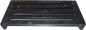 Grille en fonte 24 x 12 cm-acier-wELLFIRE standard -