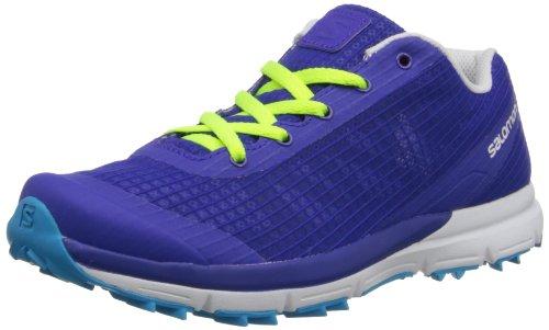 Salomon, Sneaker donna Blu (Spectrum Blue Fluo Yellow)