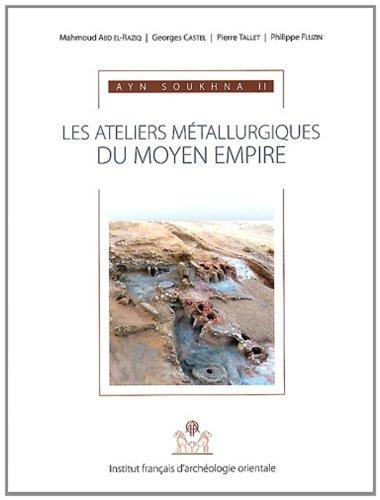 Ayn Soukhna : Volume 2, Les ateliers métallurgiques du Moyen Empire (1Cédérom)