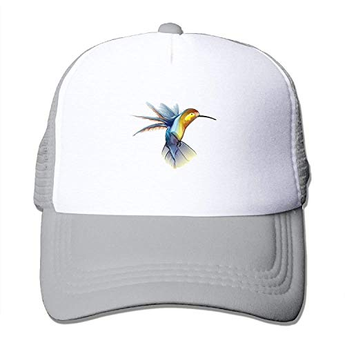 LoveBiuBiu Hummingbird Youth Mesh Baseball Cap Summer Adjustable Trucker Hat (Cap Blue Power Newsboy)