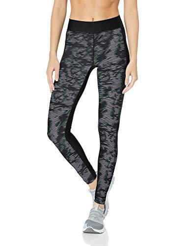 16f80b4175 Under Armour HG Printed Pantalon Femme, Noir, FR (Taille Fabricant : SM)
