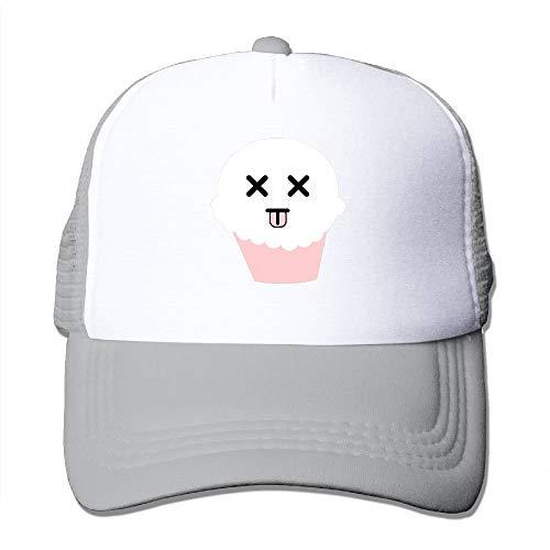 rucker Hat Unisex Adult Baseball Mesh Cap Black ()