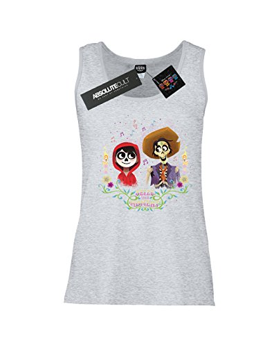 Disney Femme Coco Miguel and Hector Tank Top Sport Gris