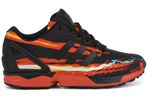 Adidas Zx Flux Mitologia Sneakers B34138 Black Carbon Us 7.5 Red / Black-Carbon