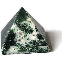 Reiki heilende Energie geladen Moos Achat Kristall Pyramide (ca. 2cm) Wunderschön als Geschenk verpackt mit Kristall... preisvergleich bei billige-tabletten.eu