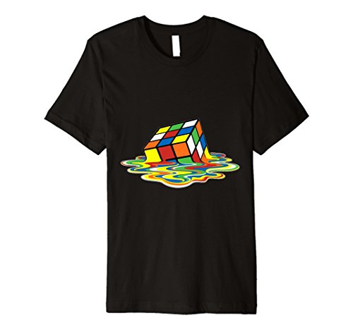 Melting Rubik Cube T-Shirt