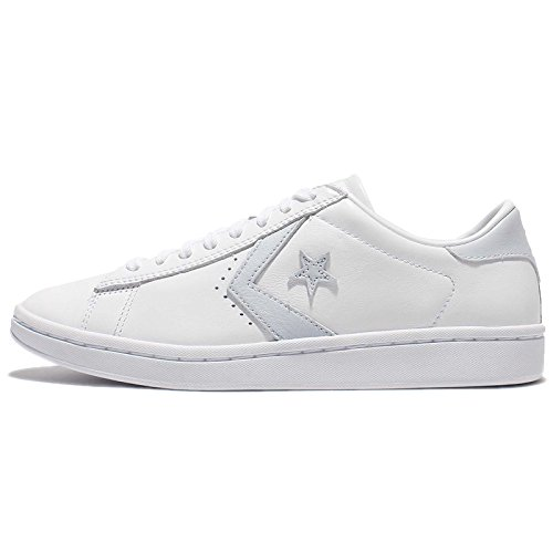 Image of Converse Chucks 555932C Weiss Star Player LP OX Leder Weiss White Porpoise White, Groesse:38 EU / 5.5 UK / 7.5 US