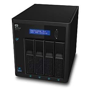 WD My Cloud EX4100 Boîtier NAS Série Expert sans Disque - 4 Baies - WDBWZE0000NBK-EESN
