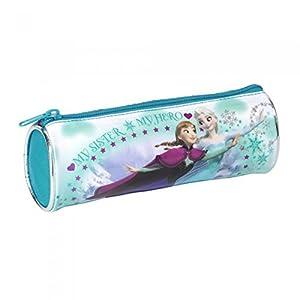 Frozen Disney – Estuche oficial para lapiceros y bolígrafos Modelo Barrel para niñas