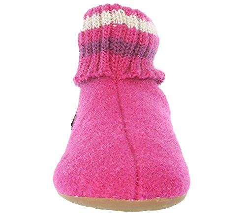 Haflinger Pablo, Chaussons mixte enfant pink