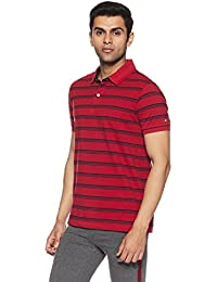 Arrow Sports Men's Striped Regular Fit T-Shirt