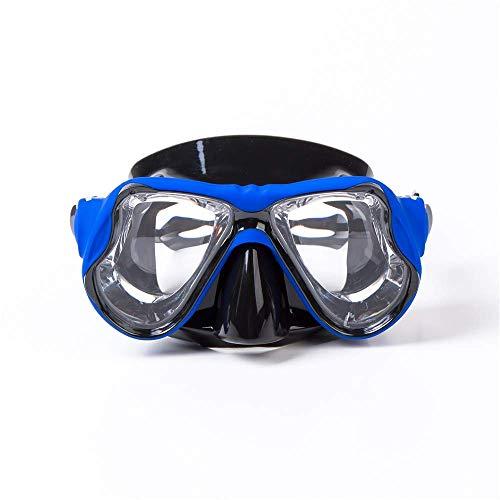 BaFangMáscara natación Silicona Máscara Buceo Goggle