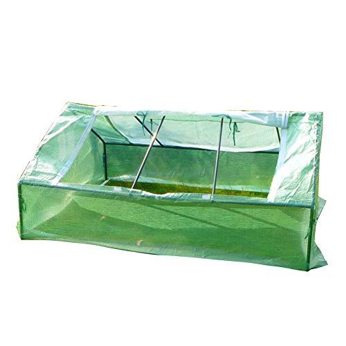 LIANGLIANG-Serre de jardin Plante De Jardinage Résistant À La Pluie Conservation De La Chaleur Très Grand Plastique PE Résistant Résistance À La Déchirure Balcon