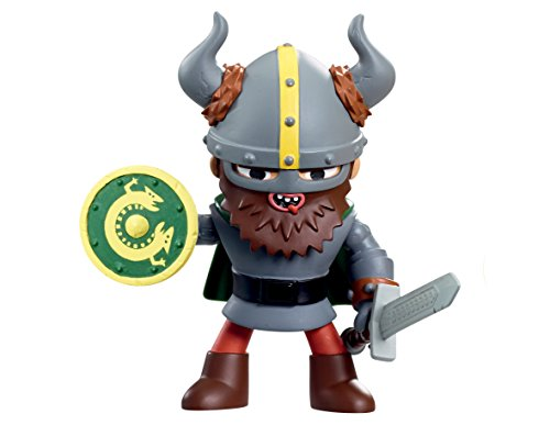 World of Warriors – Gunnar le Guerrier Viking – Figurine Attaque Spéciale 14 cm