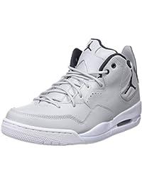 official photos 1b5a8 45952 Nike Herren Jordan Courtside 23 Basketballschuhe Black Gym Red - Particle  Grey