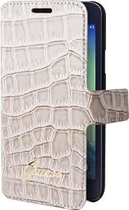 Etui Samsung Galaxy A3 A300 Guess folio croco beige