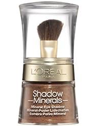 L'Oréal Paris Color Minerals Eyeshadow, 13 Bronze Gold - Puder Lidschatten aus natürlichen Mineralien für ein schimmerndes, langanhaltendes Ergebnis - 1er Pack (1 x 3,5g)