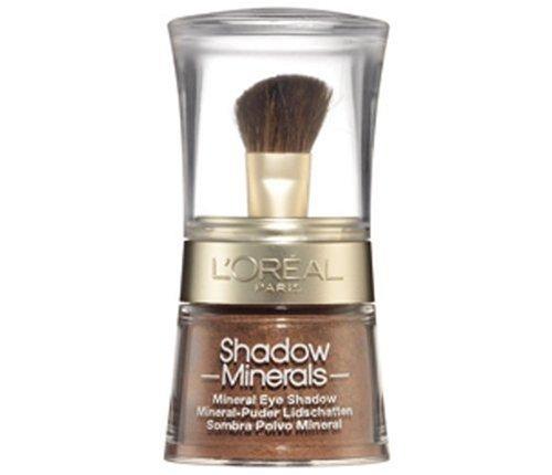 L'Oréal Paris Color Minerals Eyeshadow, 13 Bronze Gold - Puder Lidschatten aus natürlichen Mineralien für ein schimmerndes, langanhaltendes Ergebnis - 1er Pack (1 x 3,5g) -