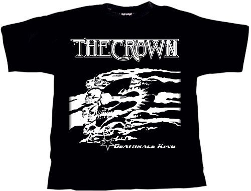 The Crown Deathrace King T-Shirt Schwarz