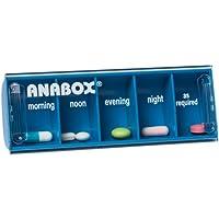 Anabox Tablettendose für 1 Tag, Himmelblau preisvergleich bei billige-tabletten.eu