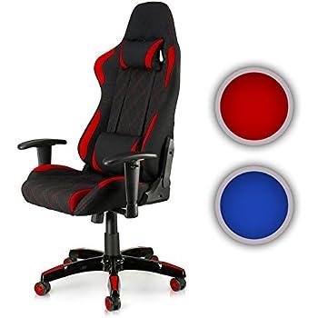 my sit profi b rostuhl ergonomisch mit armlehnen hoher r ckenlehne stoff bezug rot bis 120kg. Black Bedroom Furniture Sets. Home Design Ideas