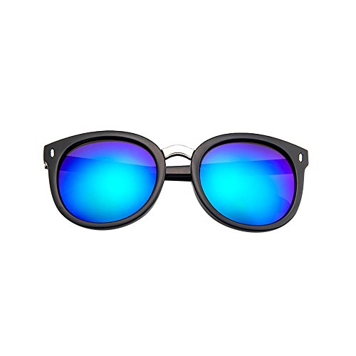 Sonnenbrille Herren Polarisiert Vintage Pilotenbrille Metallrahmen Fensterglas Brille Ohne...