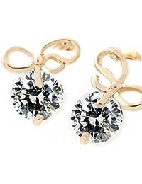 Lily Jewelry - Pendientes elegantes y brillantes para mujer