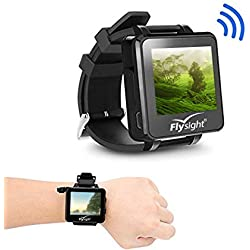 Flysight FPV Watch Receptor inalámbrico 5.8Ghz 32 Ch HD 960 * 240 Monitor Video en tiempo real para Drone RC UAV Helicopter Quadcopter Aircraft