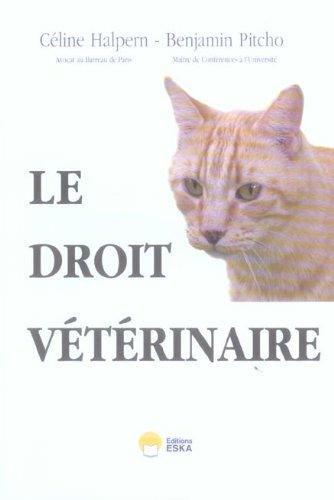 Le droit vétérinaire