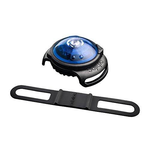 Orbiloc Safety Light Blau Hund Halsband Sicherheit Licht 5km Hohe Sichtbarkeit Nacht Taschenlampe Wasserdicht IPX8–Lange Akku-Leben