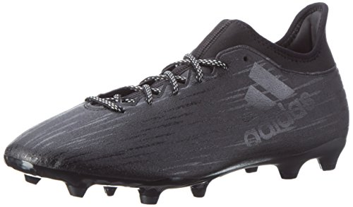 adidas Men's X 16.3 Fg Cblack, Cblack and Dkgrey Football Boots - 8 UK/India (42 EU)