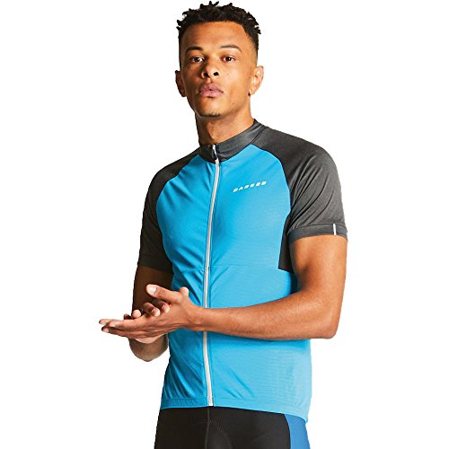 Dare 2b Dare2B Men's Sequal Cycle Tops, FlBlue/Charc, Medium