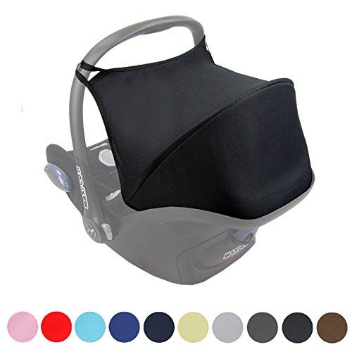 Preisvergleich Produktbild Babys-Dreams Sonnenverdeck UV50+ für Maxi-Cosi Cabriofix ** 11 FARBEN ** Sonnendach Babyschale Autositz Maxi Cosi (Beige)