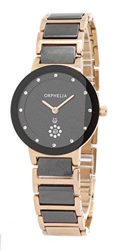 Damen-reloj de pulsera analógico ORPHELIA cuarzo 153-3704-47